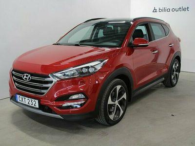 begagnad Hyundai Tucson 2.0CRDi 184hk 4WD Premium Skinn Panorama Navi