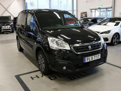 begagnad Peugeot Partner L1 Pro+ 100hk Drag Inredning Larm