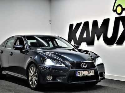 begagnad Lexus GS450H 3.5 V6 | Luxury | Head-up | GPS | 2012, Sedan 219 900 kr