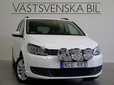 begagnad VW Touran 1.4 TSI EcoFuel DSG Automat -13