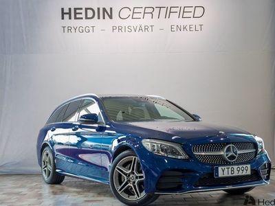 begagnad Mercedes C220 d 4MATIC // AMG & Bränslevärmare //