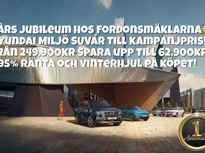 begagnad Hyundai Tucson 1.6T HYBRID 1ÅRS JUBILEUM VINTERHJUL 1.95% RÄNTA