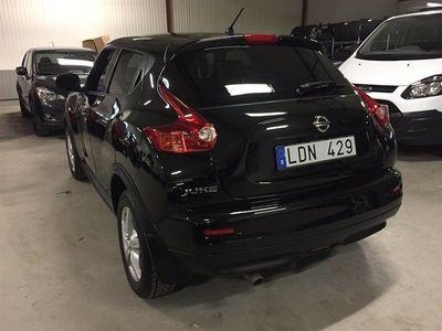 begagnad Nissan Juke 1.6 117hk Tekna Drag+V.hjul Nyservad 12mån garanti