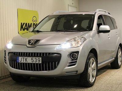 begagnad Peugeot 4007 2,2 HDI Drag Navi 7 sits Rockford