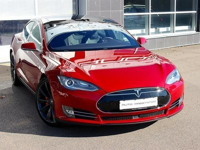 begagnad Tesla Model S P90 D 700 Hk Svensksåld