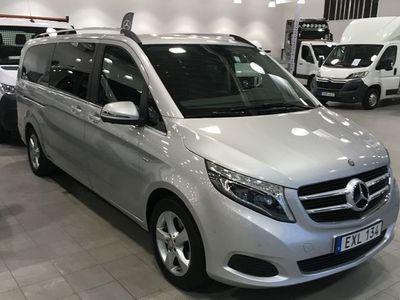 begagnad Mercedes V250 V BenzV-KLASS D AVANTGARDE EDITION EX. LÅNG 2016, Personbil 369 900 kr