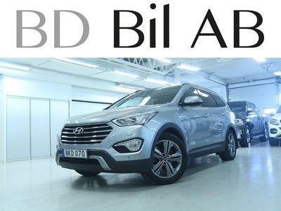 begagnad Hyundai Grand Santa Fe 2.2 CRDi-R 4WD 7-SITS SE UTR 1,95% RÄNTA