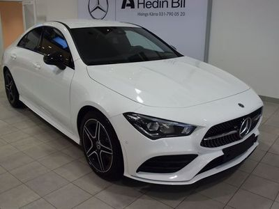 begagnad Mercedes CLA220 COUPÉ 4MATIC NIGHTPACKAGE AMG