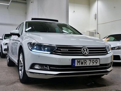 begagnad VW Passat Sportscombi TDI 4M.Executive Panorama Värmare Drag 190hk