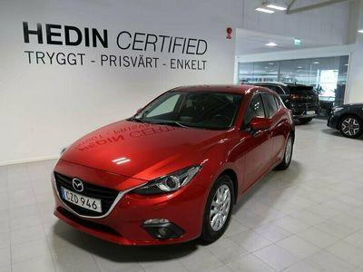 begagnad Mazda 3 3Sport 2.0 SKYACTIV-G Manuell 2016, Halvkombi Pris 149 900 kr