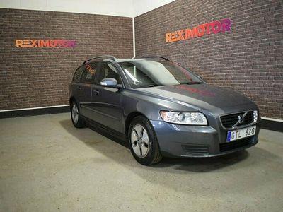begagnad Volvo V50 1.8 Flexifuel Kinetic 125hk Ny Besiktad