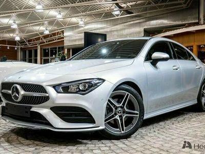 begagnad Mercedes 180 CLA BenzAMG Line & Widescreen 2021, Sportkupé Pris 328 500 kr
