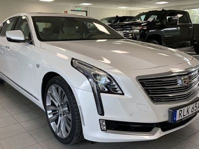 begagnad Cadillac CT6 3.0 V6 AWD 405hk // Panoramatak // Nyservad!