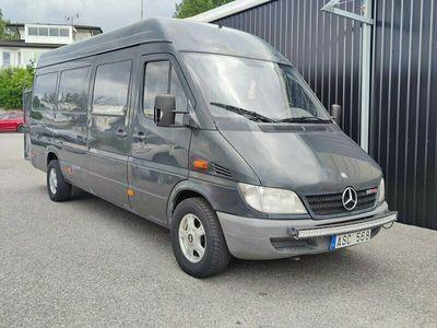 begagnad Mercedes Sprinter 313 CDI Skåpbil MAXI 5-SITS Panel Van 129hk