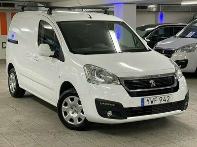 begagnad Peugeot Partner PRO 1.6 BlueHDi L1 - Webasto. Dragkrok 2017, Transportbil Pris 131 000 kr