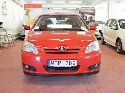 brugt Toyota Corolla 5-dörrar Halvkombi 1.6 VVT-i 0%Ränta