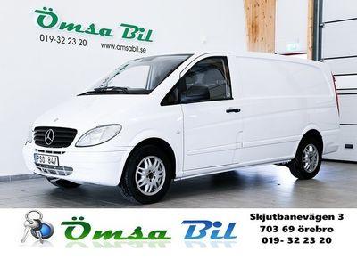 begagnad Mercedes Vito 120 CDI AUTOMAT 204 HK