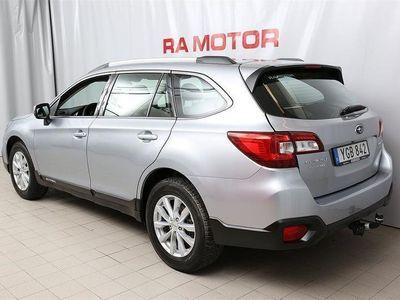 begagnad Subaru Outback 2,0D Base VInterhjul, Dragkrok, Motorvärmare + fläkt ing