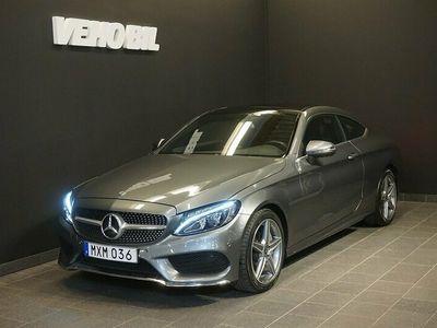 begagnad Mercedes C250 Coupé AMG Värmare Panorama Aut Apple Carplay