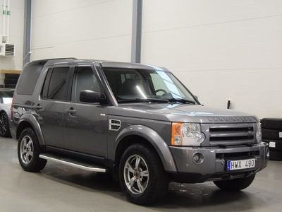 begagnad Land Rover Discovery 2.7 TDV6 4WD Automat 7-sits 190HK HSE
