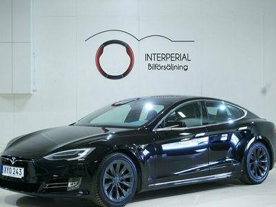begagnad Tesla Model S 75D 525hk Panorama Luftfjädring Autopilot Moms