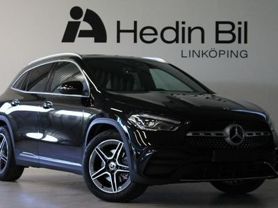 begagnad Mercedes GLA200 Dragkrok Backkamera AMG Line Widescreen cockpit