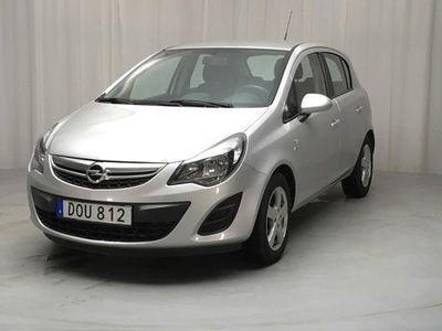 begagnad Opel Corsa 1.2 Twinport 5dr 2014, Halvkombi 50 000 kr - 65 000 kr