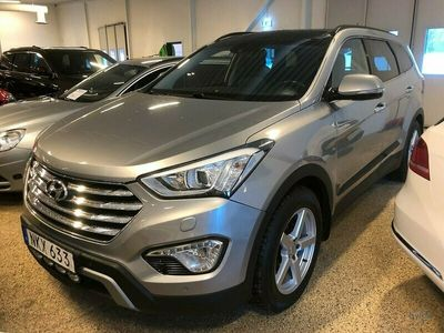 begagnad Hyundai Grand Santa Fe 2.2 CRDi 4WD Shiftronic 7-sits 197hk