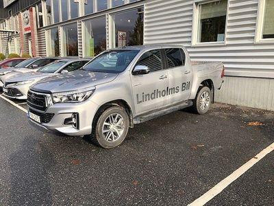 begagnad Toyota HiLux D-CAB 2,4D S&S AUT 4WD ULTIMATE