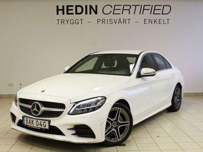 begagnad Mercedes 200 - Benz C - Klassd AMG line Dragkrok, Navi, Backkamera
