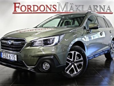 begagnad Subaru Outback 2,5 ACTIVE AUT 4X4 AWD WILDNESS GREEN