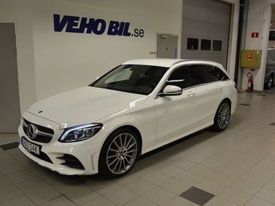 begagnad Mercedes C220 d/Automat/AMG LIne/Kombipaket/Premiumpaket