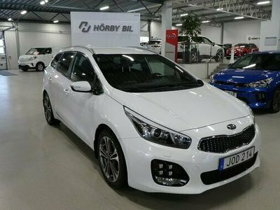 begagnad Kia cee'd GT SW 1.6 CRDi Line Euro 6 2017, Halvkombi Pris 159 900 kr