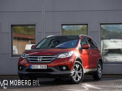 begagnad Honda CR-V 2.2 4WD Aut 150hk Executive Pano