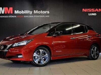 begagnad Nissan Leaf N-Connecta 2-Tone Black Roof Part-Leather 62 kWh