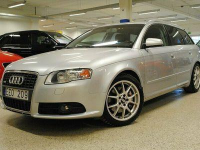 begagnad Audi A4 Avant 2.0 TFSI quattro S-Line Drag. Mv 2007, Kombi Pris 49 000 kr