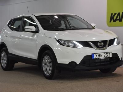 brugt Nissan Qashqai 1.2 DIG-T Visia S&V-Hjul (115hk)