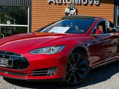begagnad Tesla Model S 85D Panorama Luftfjädring Free Charge 2016, Sedan Pris 499 900 kr