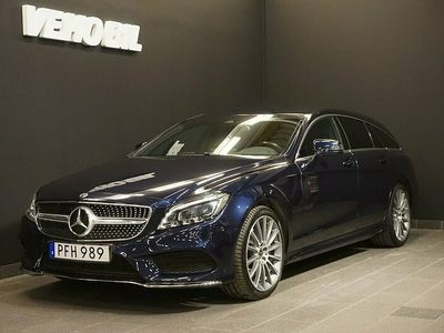 begagnad Mercedes CLS350 4MATIC AMG Värmare Apple Carplay Drag Navi