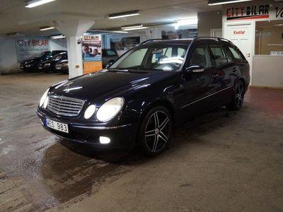 begagnad Mercedes E200 Kompressor 5G-Tronic 163hk