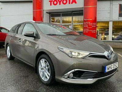 begagnad Toyota Auris 1.8 Elhybrid TS Executive Drag, MV, GPS, Psens