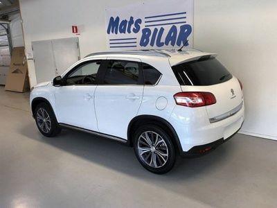 begagnad Peugeot 4008 ALLURE e-HDi 115 4WD Business Ed -16