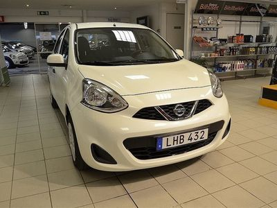 begagnad Nissan Micra 1,2 Visia