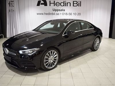 begagnad Mercedes CLA200 Coupé //AMG-line//Premiumpkt//Augmented Reality