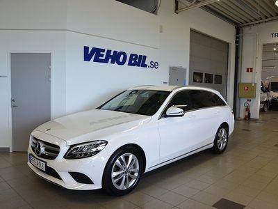 begagnad Mercedes C220 C-KlassT 9G-Tronic Euro 6, Dragkok, Navigation, Backkamera, Ava