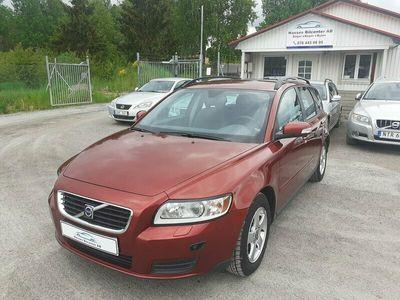 begagnad Volvo V50 1.8 Flexifuel Kinetic 125hk 1 Ägare Nyservad
