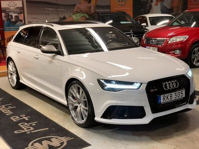 begagnad Audi RS6 Performance 605hk Dynamic Quattro