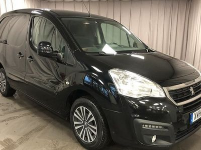begagnad Peugeot Partner Skåpbil 1.6 BlueHDi EGS Euro 6 2016, Transportbil 89 000 kr