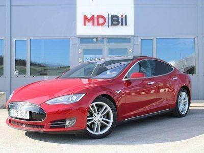 begagnad Tesla Model S 70D Nextgen Panorama Friladdning