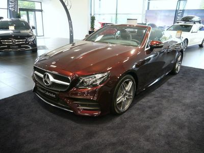 begagnad Mercedes E200 Cabriolet 200, Sportpaket, Advantagepaket
